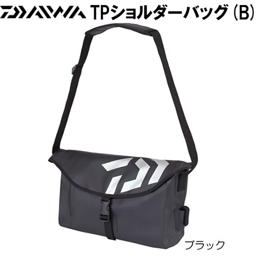 ホーム伝導準拠ダイワ(Daiwa) タックルバッグ TP ショルダーバッグ (B) ブラック