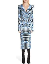 (ヴェルサーチ) Versace Mixed Print Jersey Dress ミックスプリントジャージーワンピース (並行輸入品)