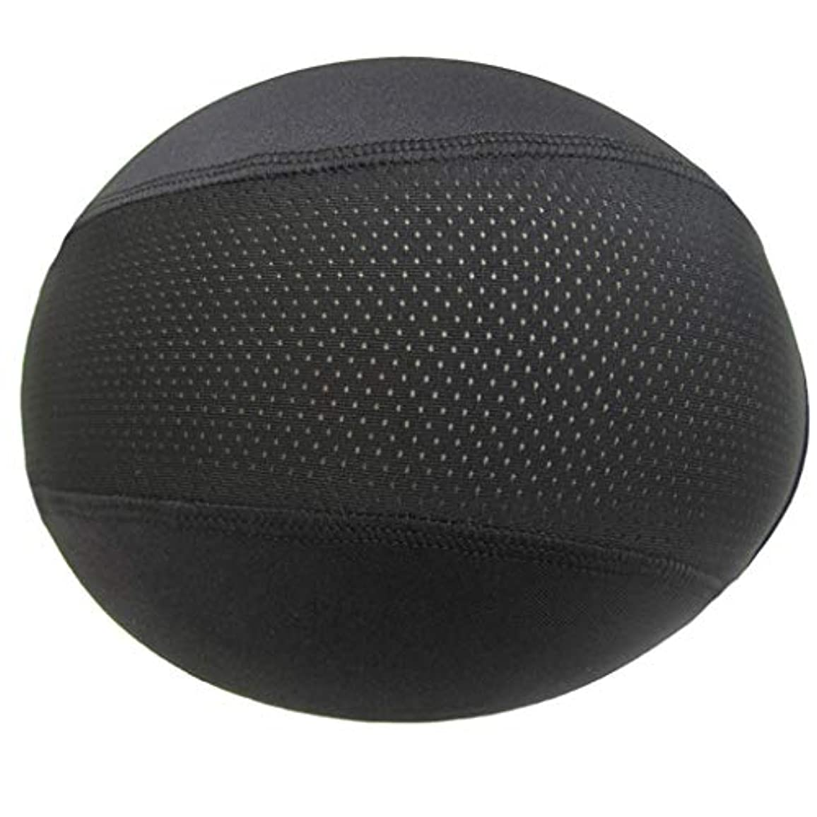 動動一般化するヘルメットインナーキャップ ユニセックス帽子ドームキャップ 水分発散冷却スカルキャップ