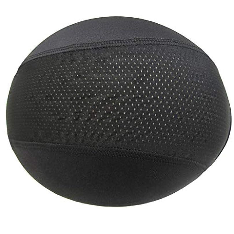 ヘルメットインナーキャップ ユニセックス帽子ドームキャップ 水分発散冷却スカルキャップ