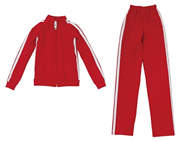 AZO2 ジャージセット 赤 48/50 cm「AZO2 」ボディ FAO052-RED ドール服
