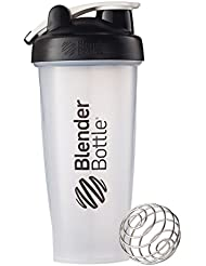 Blender Bottle(ブレンダーボトル) 【日本正規品】 Blender Bottle Classic w/Loop Clear 28オンス BBCLWL28 BK