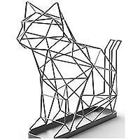シャドーワイヤー キャット UMBRELLA STAND CAT 傘立て ネコの傘立て ネコ オブジェ お洒落 玄関 インテリア オフィス お店 アクトワークス