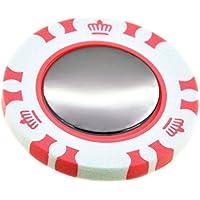 ポーカー カジノチップ ダブル 無地 ブランク ゴルフマーカー
