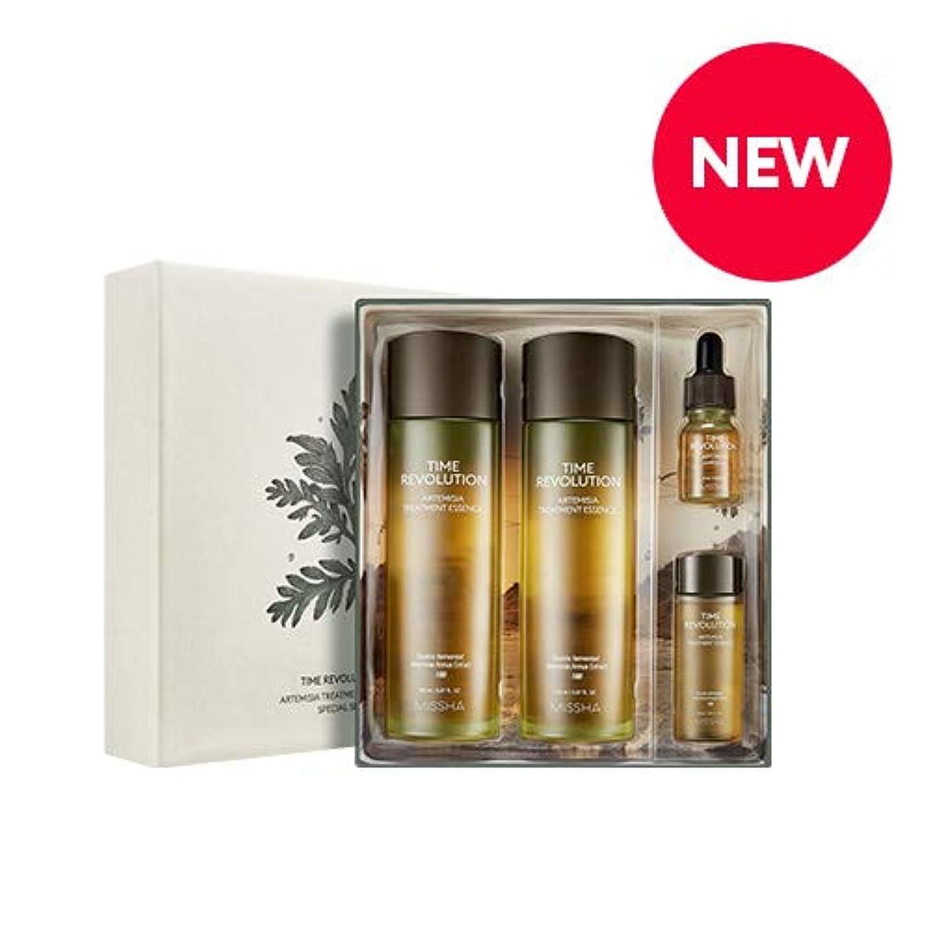 篭シネマ気楽なMISSHA タイムレボリューションアルテミシアトリートメントエッセンススペシャルセット/Time Revolution Artemisia Treatment Essence Special Set [並行輸入品]