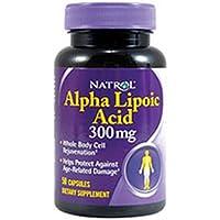 海外直送品Natrol Alpha Lipoic Acid, 50 Caps 300 MG(Pack of 2)