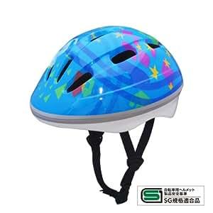 サイクルヘルメット子供用 JTK01 ブルー M(頭囲50〜56cm)
