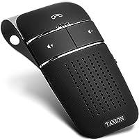 車載 ワイヤレススピーカー 業務用対応 Bluetooth 4.1 日本語アナウンス プロ仕様 【TAXION】 ハンズフリースピーカー 高音質 スピーカー 内蔵 車 自動電源ON、OFF機能 スマートフォン 2台登録待ち受け可能 通話 音楽再生 スピーカーフォン 【本体 一年保証 】 THF-04