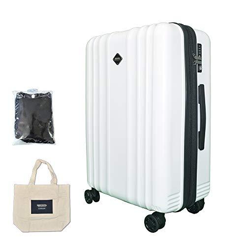 c25c00ff7f BlueCentury 超軽量スーツケース TSAロック搭載 4色展開 ポケット多 32L / 54L