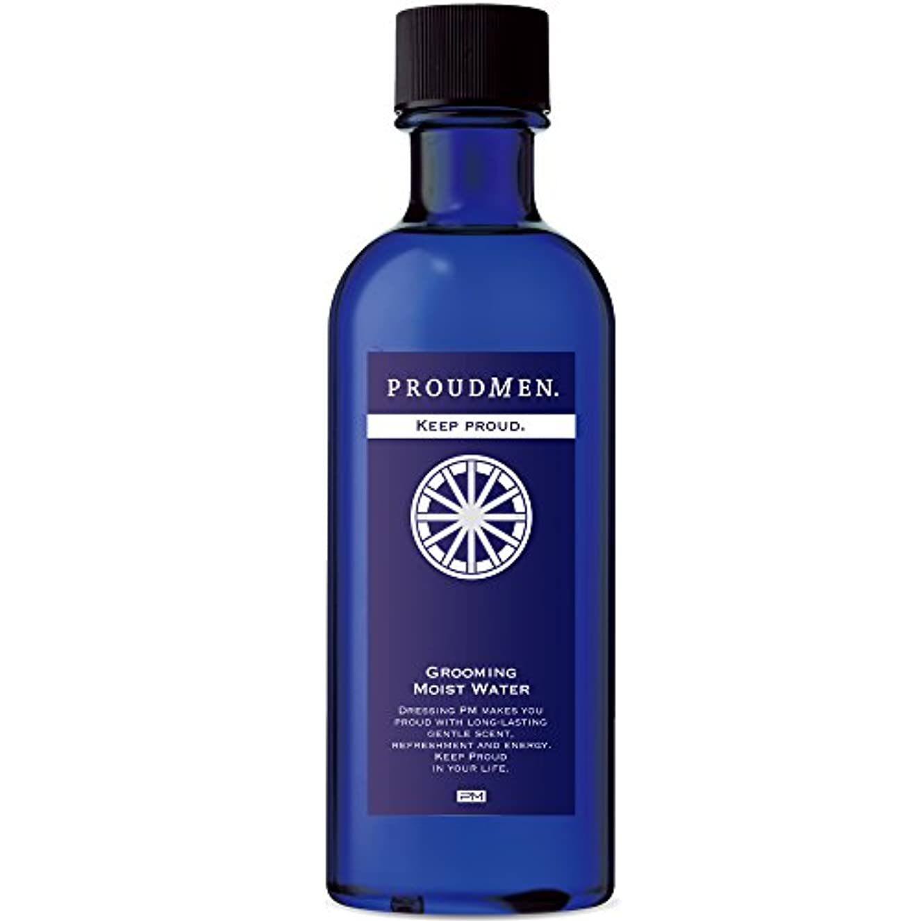 議会尋ねるキリマンジャロプラウドメン グルーミングモイストウォーター 200ml (グルーミング?シトラスの香り) 化粧水 メンズ 顔用 アフターシェーブ