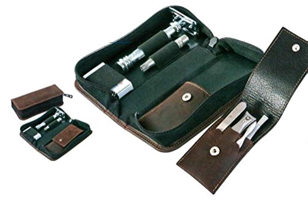 かき混ぜる装備するはずドボ グルーミング6点セット 本皮ケース大と小入り デラックス ゾーリンゲン DOVO