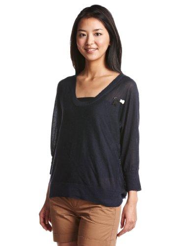 Dot deep R knit/ sheer knit 96005-3955 ジースター ロゥ
