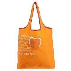 (ユナイテッドカラーズオブベネトン) UNITED COLORS OF BENETTON ポケッタブルエコバッグ ハート(日本限定) オレンジ FREE