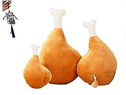 鶏モモ 抱き枕 ふわふわ 柔らか チキン型 クッション (60cm)