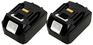 makita マキタ BL-1830 互換 18V 3000mAh 3A リチウム イオン 電池 バッテリー 交換 2個1セット