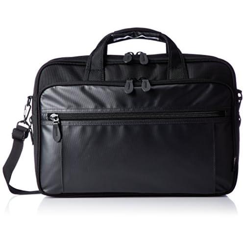 [アジア・ラゲージ] ビジネスバッグ B4ファイル収納可 2WAY PCポケット キャリーON ADY-3909 BK ブラック
