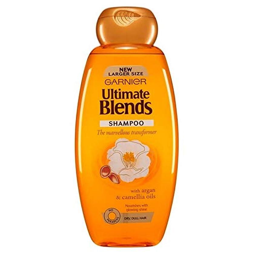 出撃者億吸収[Garnier ] ガルニエ究極は、アルガンオイルつやのある髪シャンプー600ミリリットルをブレンド - Garnier Ultimate Blends Argan Oil Shiny Hair Shampoo 600ml...