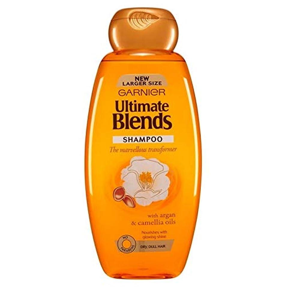 医学限りパット[Garnier ] ガルニエ究極は、アルガンオイルつやのある髪シャンプー600ミリリットルをブレンド - Garnier Ultimate Blends Argan Oil Shiny Hair Shampoo 600ml [並行輸入品]