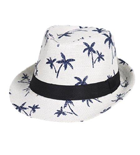 (ポン・デ・アバン) 男女兼用 木柄 帽子 ハット (2.白...