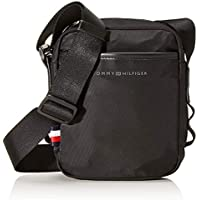 Tommy Hilfiger Men's Small Sport Reporter Bag Small Sport Reporter Bag, Black, One Size