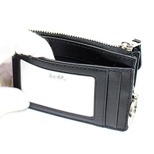info for 2d180 77a95 コーチ)COACH コインケース 財布 カードケース ブラック ...