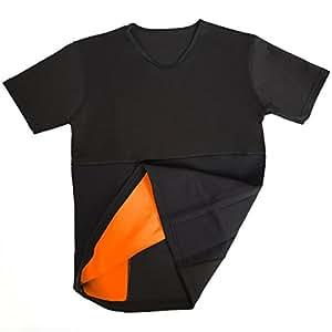 VIVALA(ビバラ)ブーストトレーニングTシャツ 発汗トレーニング ウエストトリマー 減量用 L 177~184cm