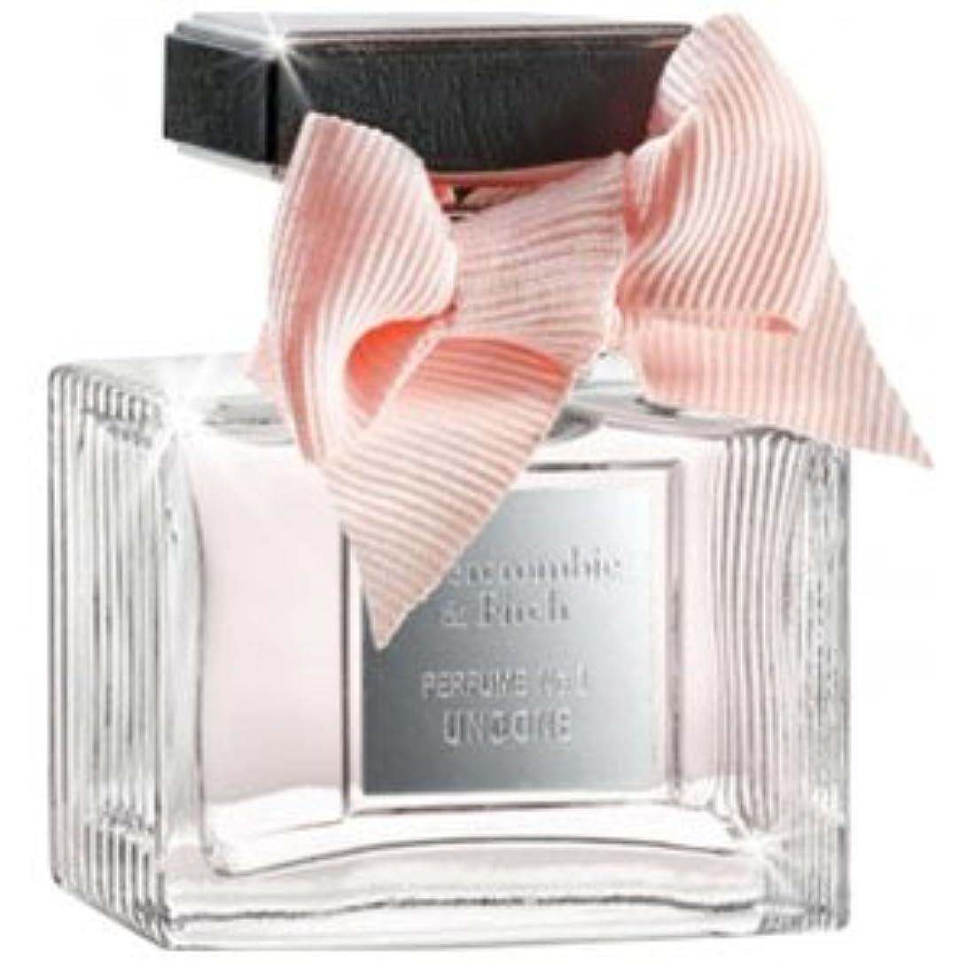 下手暗殺仕えるAbercrombie Perfume No.1 Undone (アバクロンベ フィッチ No.1 アンダン) 1.7 oz (50ml) EDTSpray for Women