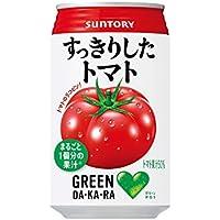 GREEN DA・KA・RA すっきりしたトマト 缶 (350g×24本入り)×2ケース