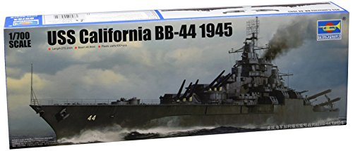 1:700 Uss California Bb-44 1945 Model Kit