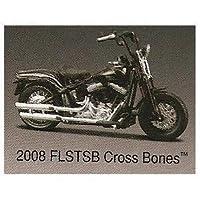 2008 Harley Davidson 2008 FLSTSB Cross Bones 1:18 Scale Authentic Detailed Replica: Maisto Series 27, Model 31360 by Maisto 1:18 Harley Davidson