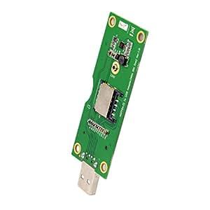 JsER M。2NGFFワイヤレスWWAN to USBアダプターカードwith SIMカードスロットモジュールテストツール