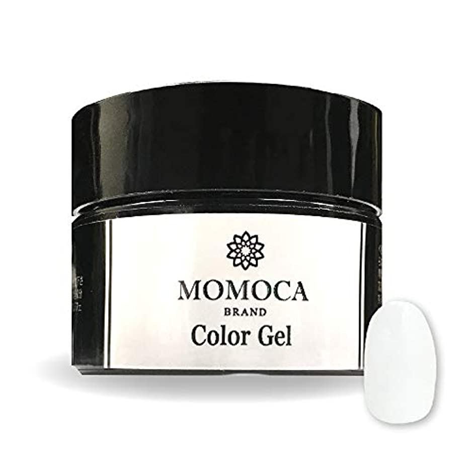 聖人請求書高潔なMOMOCA モモカ ジェルネイル サロン品質 高発色 長持ち プロ仕様 ネイルサロン ネイリスト (003M Snow white スノーホワイト)