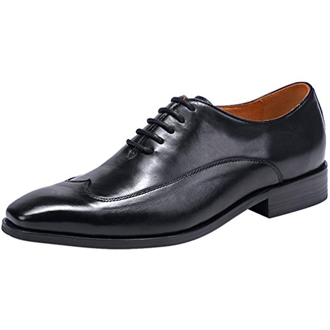 肺遠洋の声を出してWEWIN ビジネスシューズ 紳士靴 メンズ 内羽根 革靴 本革 サドルシューズ 結婚式 フォーマル 高品質 ファッション