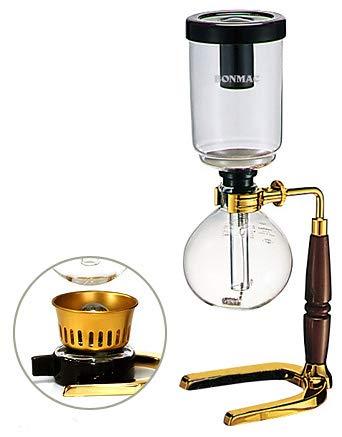 ボンマック コーヒーサイフォン・テクニカ ゴールド TCA-3GD-BM(ランプ付き)