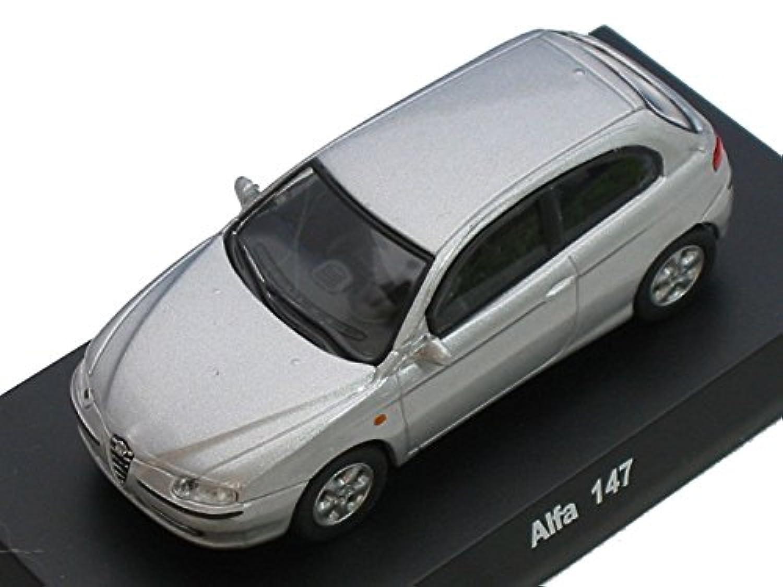京商 1/64 アルファロメオ ミニカーコレクション1 Alfa 147 銀