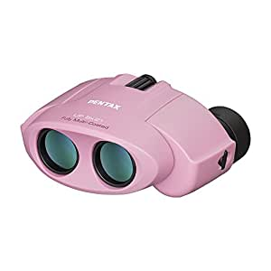 PENTAX 双眼鏡 UP 8×21 ピンク ポロプリズム 8倍 有効径21mm 61803
