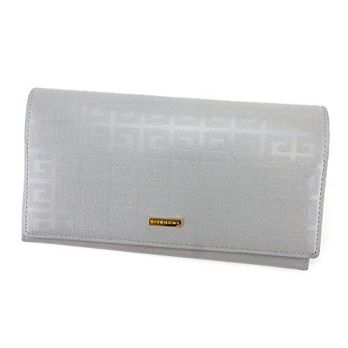 ジバンシィ GIVENCHY 長財布 財布 ファスナー付き レディース メンズ 可 ロゴプレート 4Gロゴ柄 中古 T4299