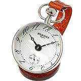 HERMES 腕時計 エルメス HERMES パンデュレットブール 手巻き 置き時計 BO1 810 ホワイト 文字盤 レア 【中古】 90056156 [並行輸入品]