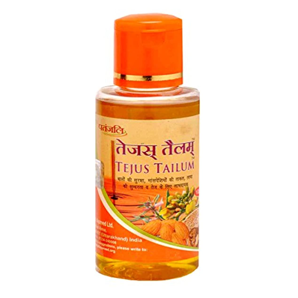 プラグ宝石困惑したPATANJALI Tejus Tailum, 100ml - Pack of 2