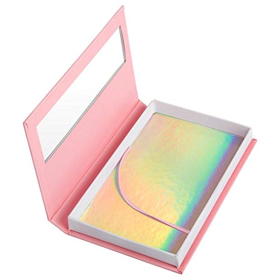 記憶に残る組立酸素空のつけまつげケア収納ケースボックスコンテナホルダーコンパートメントツール