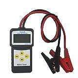 Seesii 自動車用 12V バッテリーテスター 起動システム 充電システム 診断機 CCA値 電圧 温度測定