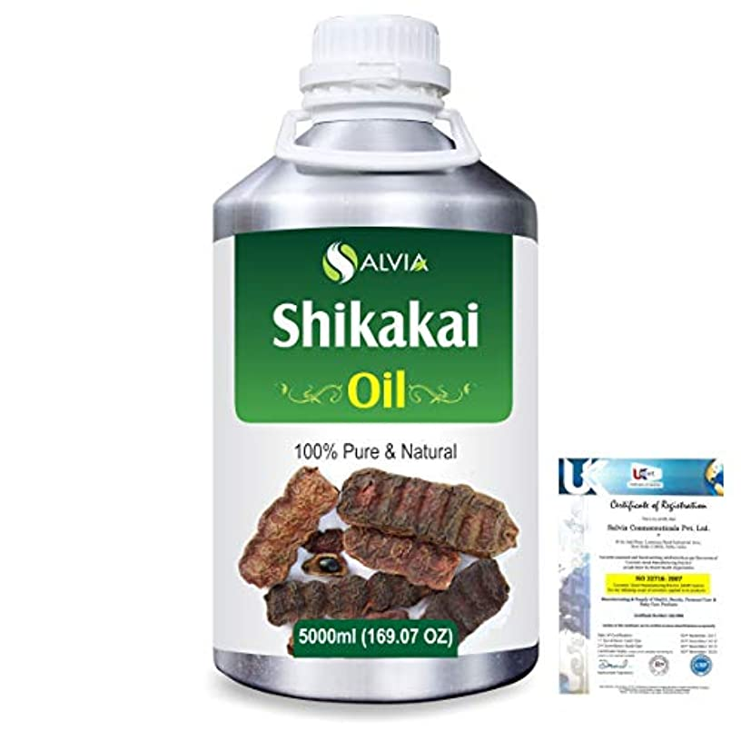 迷信名誉ポルティコShikakai (Acacia concinna) 100% Natural Pure Oil 5000ml/169fl.oz.