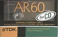 TDK カセットテープ AR 60分 高精度・低共振 AR-60K