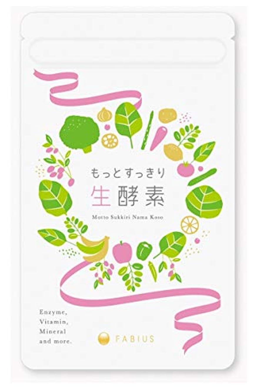 かもめめんどり既婚FABIUS もっとすっきり 生酵素 酵素 サプリ ダイエット 1ヶ月62粒分 日本製 【初回お試し価格有】