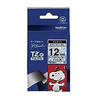 ブラザー ピータッチテープ スヌーピーテープ スヌーピーブルー/黒字 12mm TZE-UB31 【まとめ買い3個セット】