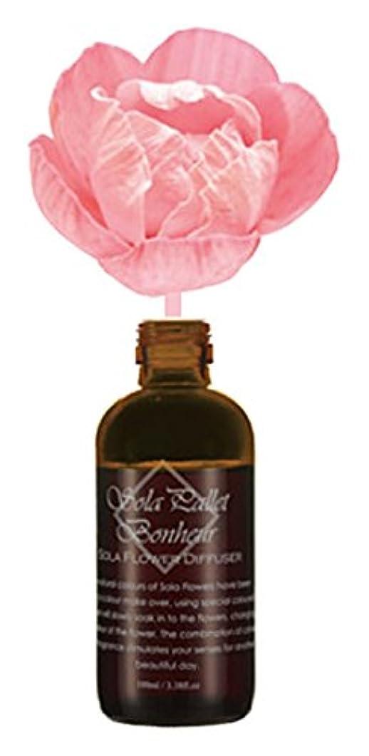 進むぶどう免疫するSOLA PALLET Bonheur ソラフラワーディフューザー Soapy Rose ソーピーローズ