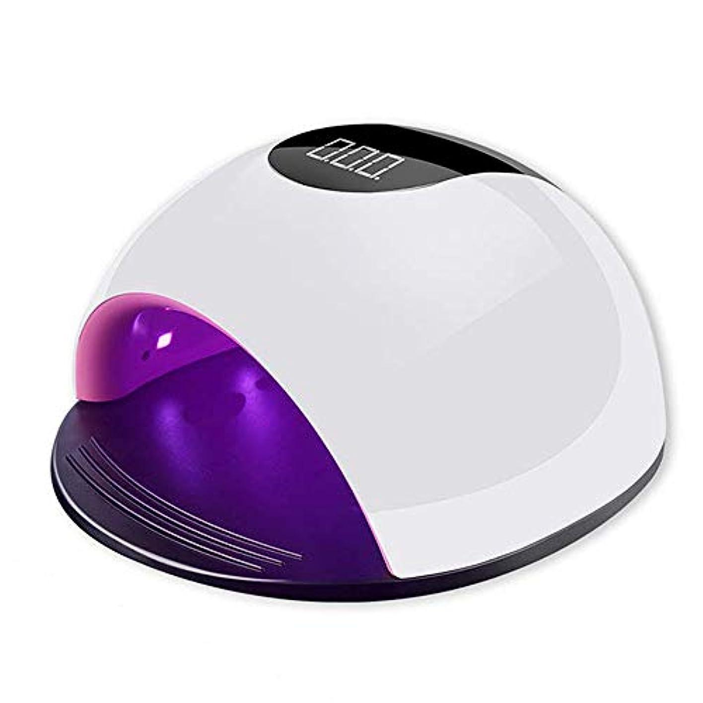 無傷お気に入りカテゴリー高速硬化赤外線ネイル硬化用マニキュア用 UV LED タイマ 自動センサ機能ジェルネイルライト ホワイト
