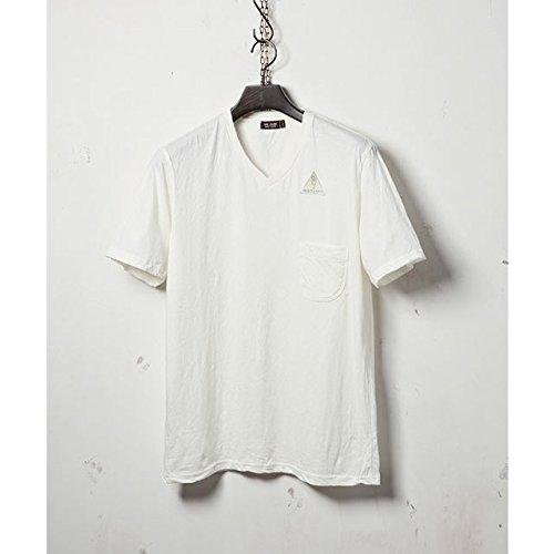 (ミスターオリーブ) Mr.Olive MASTER SEED PREMIUM COTTON V NECK T-SHIRT mrolive62818 サイズM 色WHITE