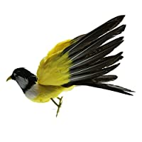 Fityle 人工フェザー 鳥の置物 全25タイプ 生き生き 屋外 庭の装飾 インテリア 手作り 高品質 - 23