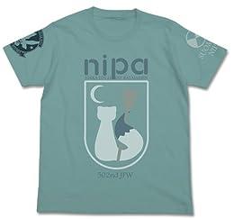 ブレイブウィッチーズ ニパ パーソナルマークTシャツ セージブルー Lサイズ